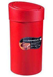 Lixeira Automática 9 L 20 X 20 X 39,5 Cm Pimenta Coza