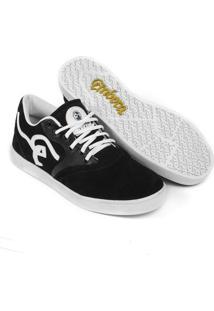 Tênis Embora Footwear Supremo Masculino - Masculino-Preto+Branco