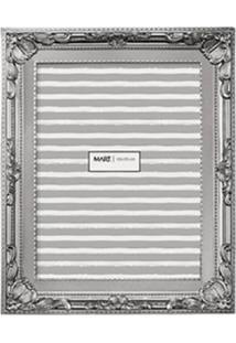 Porta Retrato Decorando Com Classe Retrô 10X15Cm Prata
