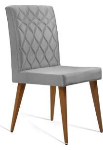 Cadeira Julia T1074 Linho Gelo Daf Gelo