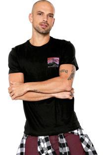 Camiseta Quiksilver La Rhune Preta