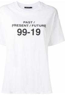 Nobody Denim Camiseta 99-19 - Branco