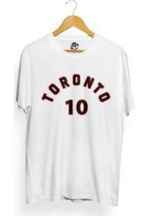 Camiseta Bsc Toronto 10 - Masculino-Branco