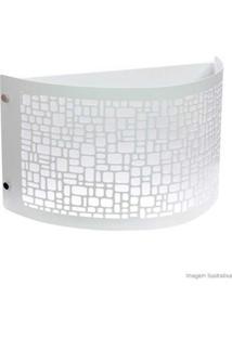 Arandela Radiance Para 1 Lâmpada E27 Branca Taschibra