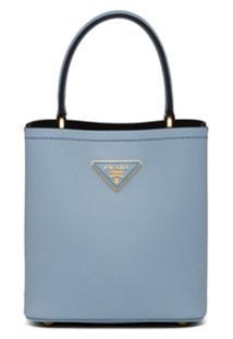 Prada Bolsa Tote 'Panier' Pequena - Azul