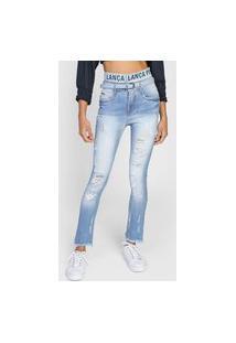 Calça Jeans Lança Perfume Skinny Vesta Azul