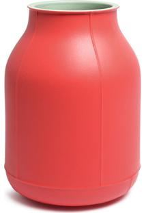 Bitossi Ceramiche Vaso Barrel Grande - Vermelho