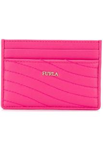 Furla Carteira Card Swing - Rosa