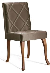 Cadeira Juliete T1102 Losan-Daf Mobiliário - Dourado