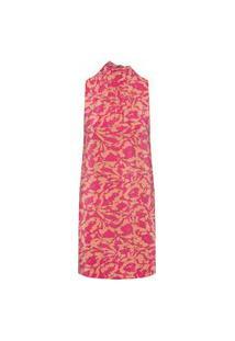 Vestido Fiorella Estampado - Rosa