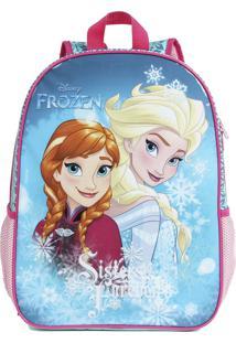 Mochila Escolar Frozen Sisters Forever