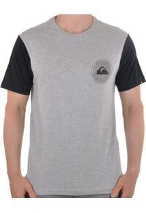 Camiseta Quiksilver Circle Dots Masculino - Masculino