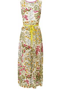 Redvalentino Vestido Longo Floral - Estampado