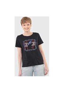 Camiseta Cantão Dançante Preta