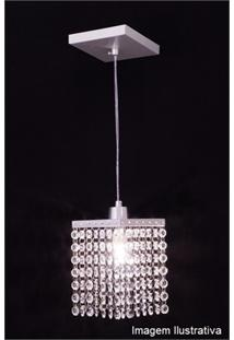 Pendente Auremar Cristal 92 - 1 Lâmpada
