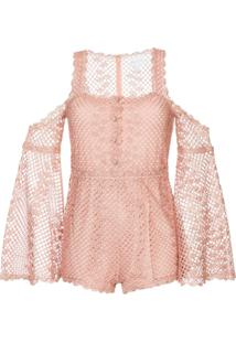 Alice Mccall Follow Me Playsuit - Rosa