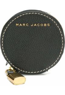 Marc Jacobs Porta-Moedas 'The Grind' De Couro - Preto