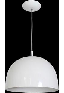 Pendente Color Dome Branco Attena