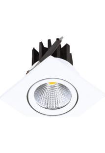 Spot Led Embutir De Alumínio Foko 6Cmx6Cmx6Cm Bella Iluminação 1X3W - Caixa Com 5 Unidade - Branco
