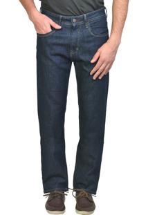 Calça Jeans Reta Escura Yck'S
