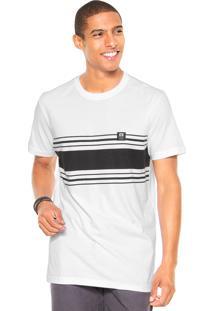 Camiseta Hang Loose Stripe Branca