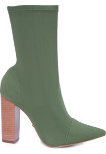 Bota Feminina Alexa - Verde