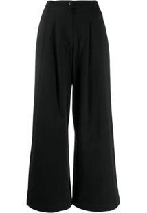Katharine Hamnett London Calça Pantalona - Preto