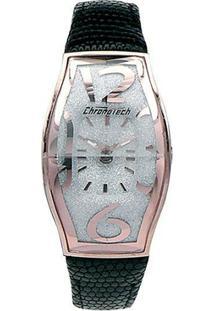 de0c09857f1 ... Relógio De Pulso Chronotech Prisma Flat - Aço Rose - Feminino-Prata+Rosa