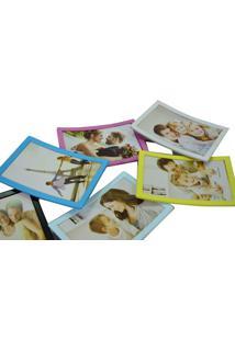Porta Retrato Minas De Presentes 6 Fotos 10X15Cm Ângulos Ajustáveis Colorido