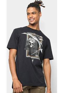 Camiseta Mcd Regular Sickle Masculina - Masculino-Preto
