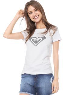 Camiseta Roxy Dear Wave Branca