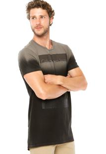 Camiseta Calvin Klein Jeans Jateada Cinza