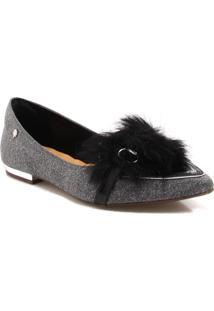 Sapatilha Zariff Shoes Bico Fino Pêlo