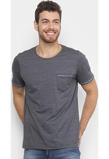 Camiseta Flamê Básica Kohmar Manga Curta Masculina - Masculino