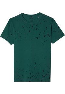 Camiseta John John Rx Basic Devore Green Malha Verde Masculina (Climbing Ivy, P)