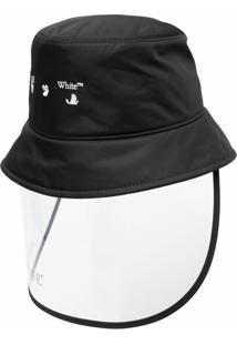 Off-White Chapéu Bucket Keep Safe - Preto