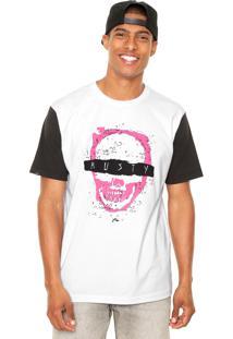 Camiseta Rusty Skull Branca
