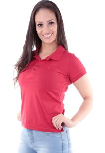 Camisa Polo Cp0724 Slim Traymon Vermelha