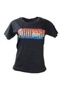 T-Shirt Viade-Se Preto