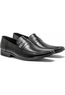 Sapato Social Difranca Italiano Dinapole Premium - Masculino-Preto