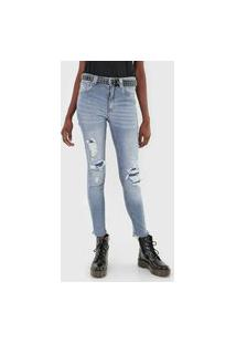 Calça Jeans John John Skinny Hupsel Azul