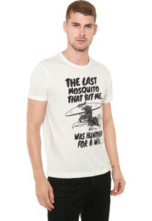 Camiseta Sergio K The Last Mosquito Off-White