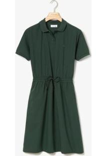 Vestido Lacoste - Feminino-Verde Militar