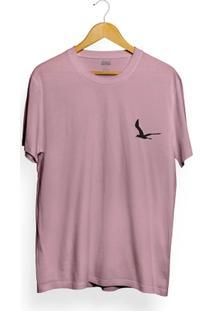 Camiseta Attack Life Lighthouse Rosa - Masculino