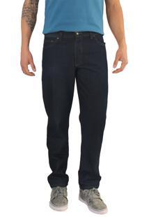 Calça Versatti Jeans Tradicional Azul Escura