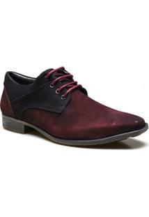 Sapato Casual Masculino Calvest Supertech Em Couro Camurça - Masculino