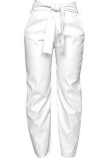 Calça Clochard Cz Brand Sintético Off White