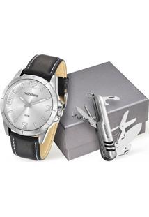 Kit Relógio Masculino Mondaine 76668G0Mvnh1K