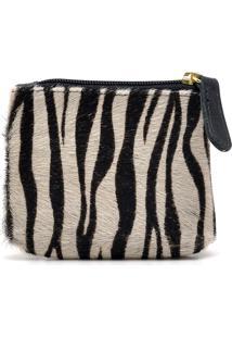 Porta-Moedas Hendy Bag Couro Pêlo Zebra