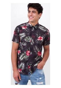 Camisa Estampada Floral